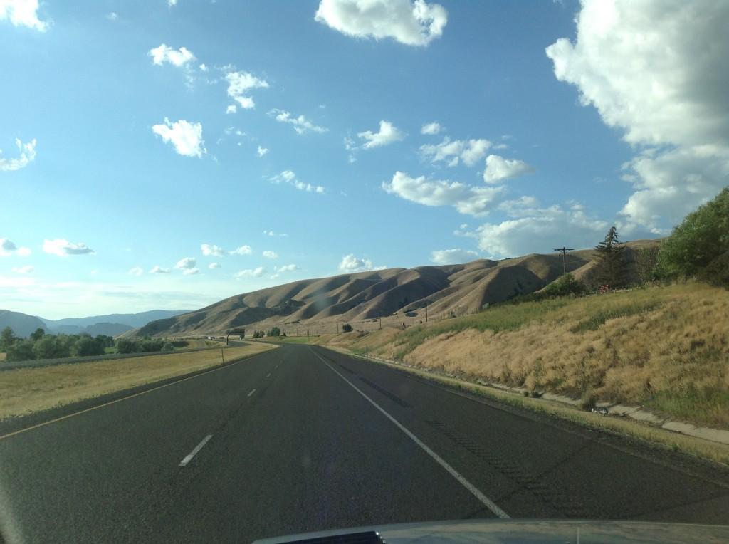 Attraversando il Wyoming